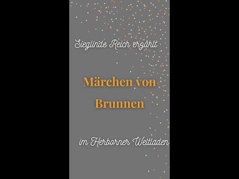 Sieglinde Reich erzählt Märchen von Brunnen im Herborner Weltladen